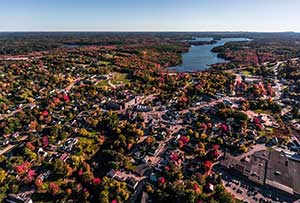 winthrop aerial photo credit to Dave Dostie
